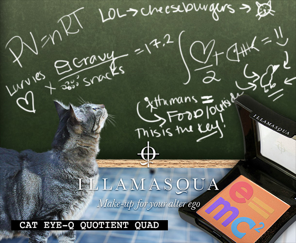 Tabs for the Illamasqua Cat IQ Quotient Quad