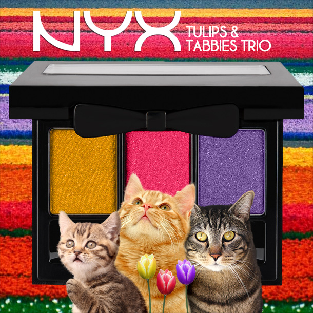 Tabs for the NYX Tulips & Tabbies Trio