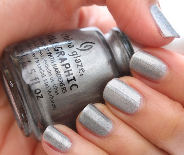 China Glaze Hologlam in Cosmic Dust