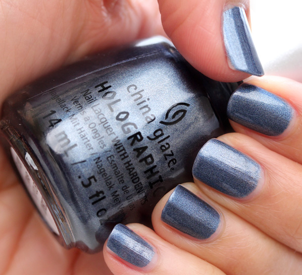 China Glaze Hologlam in Strap On Your Moonboots