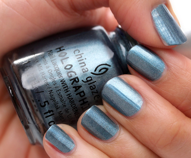 China Glaze Hologlam in Take a Trek