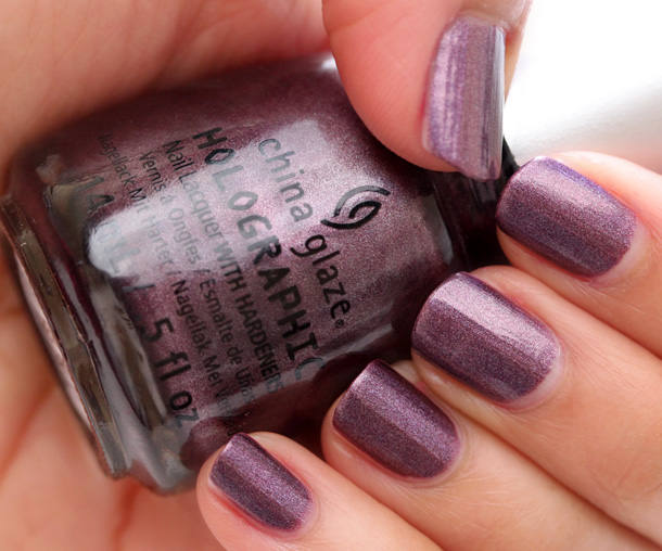 China Glaze Hologlam in When Stars Collide