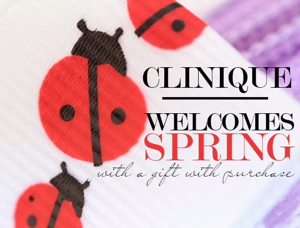 Clinique Gift With Purchase Spring 2013