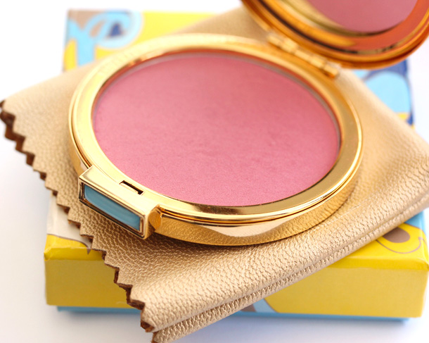 Estee Lauder Mad Men Collection See Thru Blush in Light Show compact open