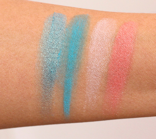 Gabriel Cosmetics Oceanid Collection swatches