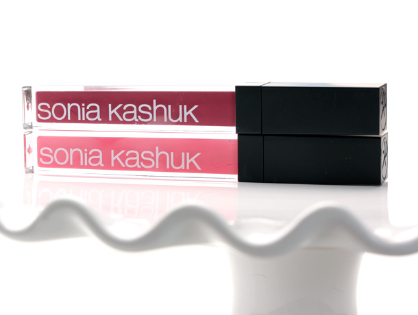 Sonia Kashuk Ultra Luxe Lip Glosses in Polished Plum on the top and Prettiest Pink on the bottom ($8.99)