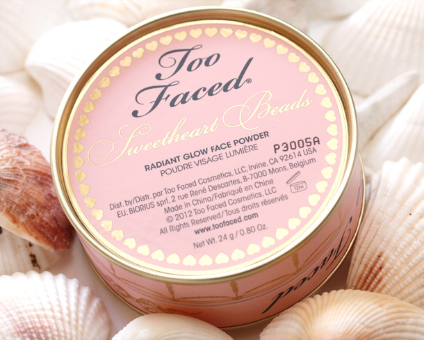 Too Faced Sweetheart Beads Radiant Glow Face Powder 3