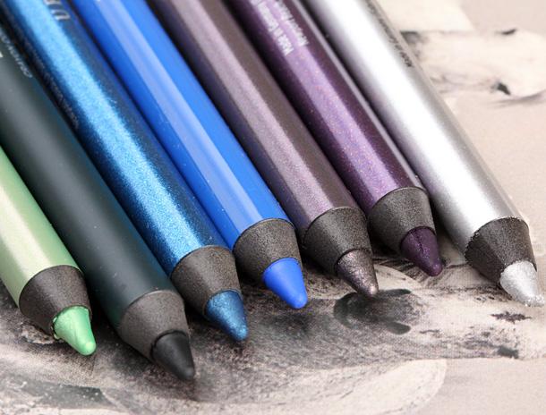 Urban Decay 24 7 Glide On Eye Pencils relaunch 2013 new shades 2