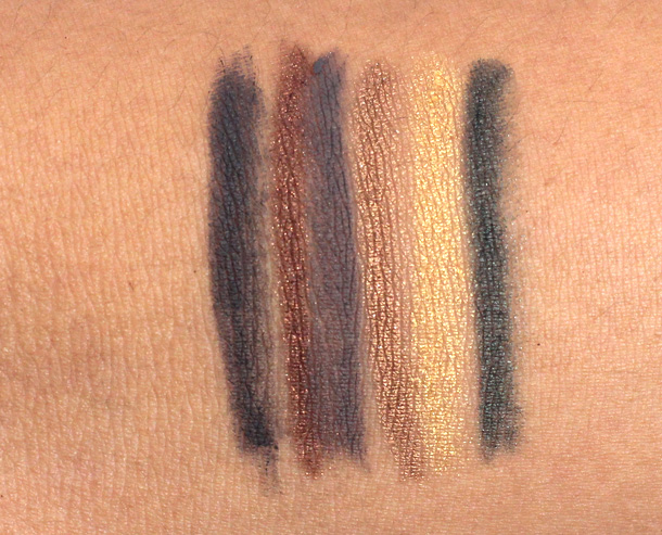 Urban Decay 24 7 Glide On Eye Pencils relaunch 2013 swatches 1