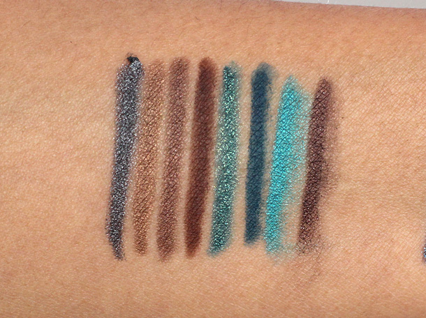 Urban Decay 24 7 Glide On Eye Pencils relaunch 2013 swatches 3