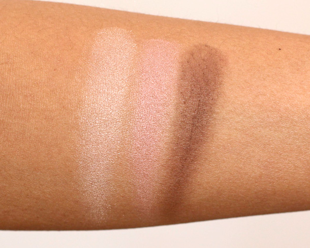 Dr. Hauschka Limited Edition Spring 2013 Collection Eyeshadow Trio Swatches