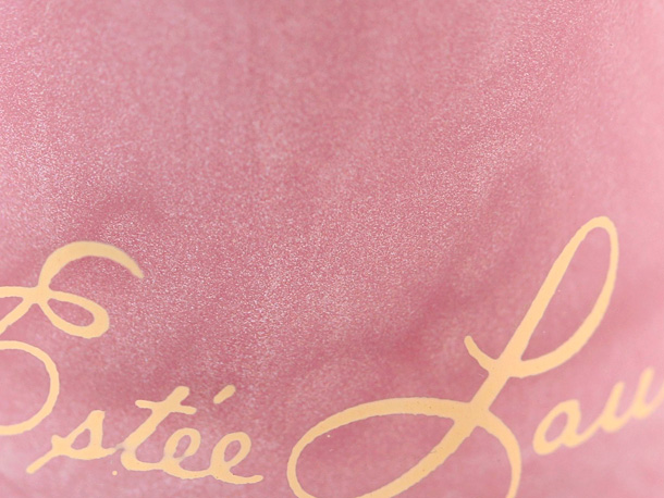 Estee Lauder's Mad Men Collection Nail Lacquer in Pink Paisley closeup