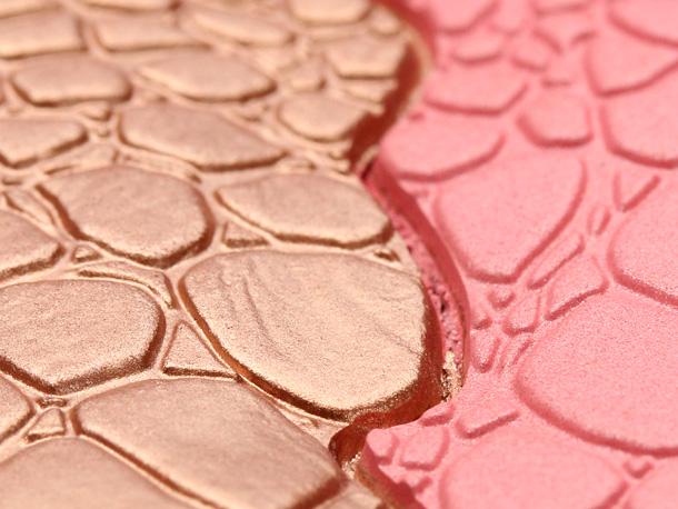Sonia Kashuk's Chic Luminosity Bronzer/Blush Duo in Glisten closeup