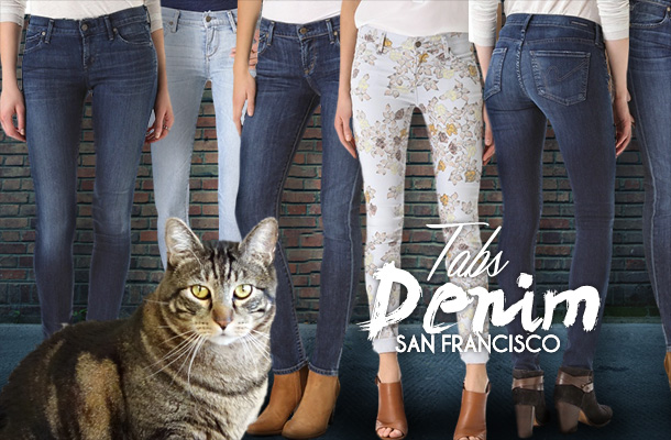 Tabs for the new Tabs Denim Jeans line