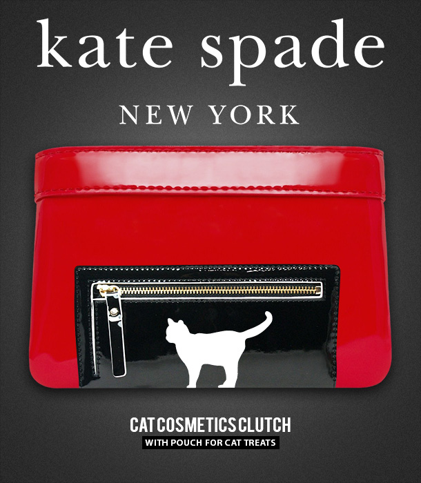 Tabs for the Kate Spade Cat Cosmetics Clutch