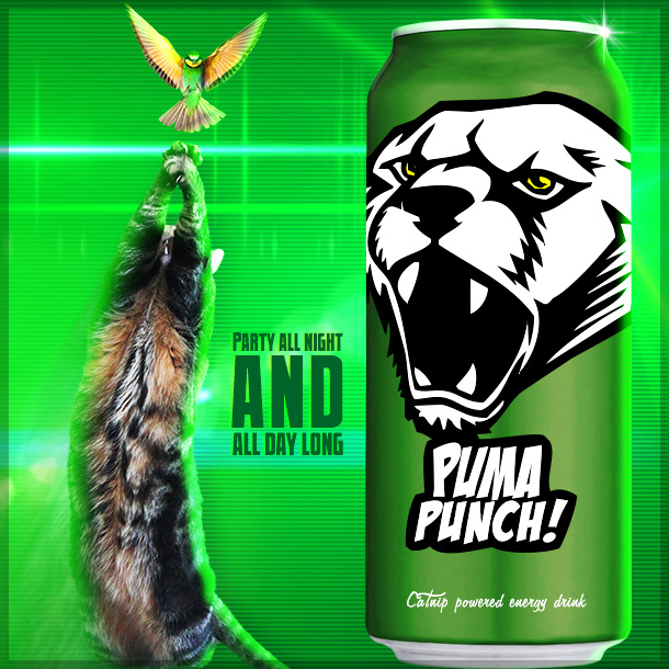 Tabs for PUMA PUNCH Energy Drink
