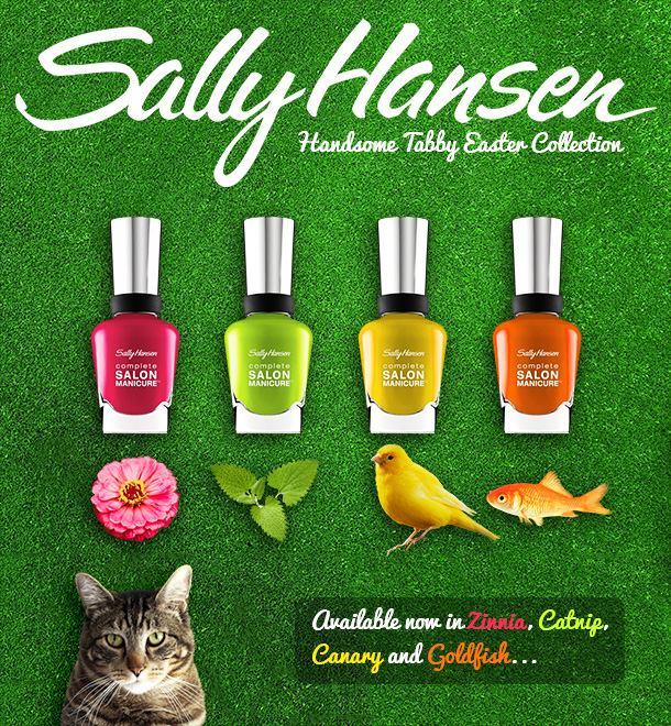 Tabs for the Sally Hansen Easter Collection