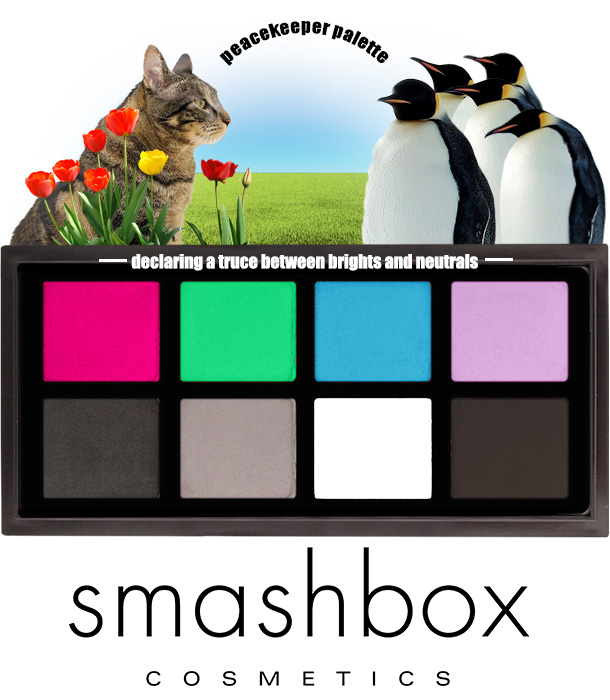 Tabs for the new Smashbox Peacekeeper Palette