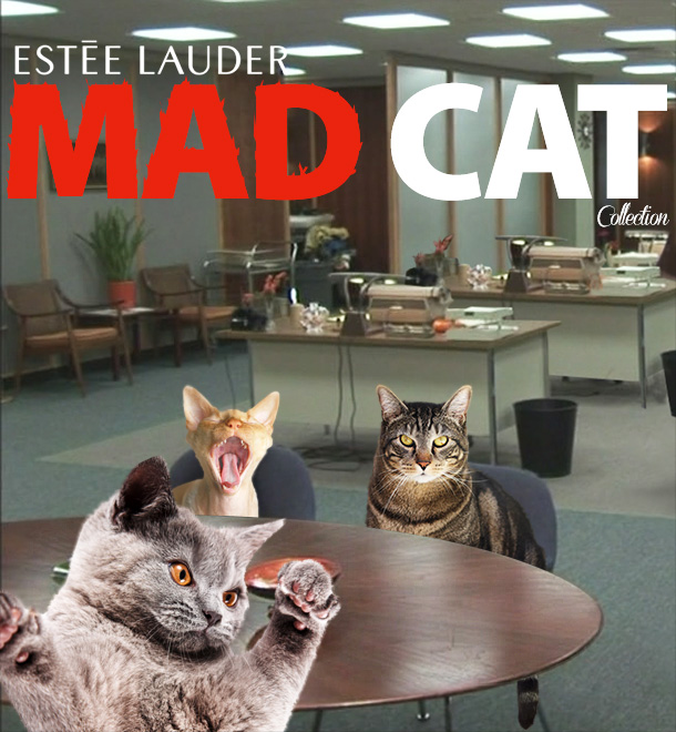 Tabs for the Estee Lauder Mad Cat Collection