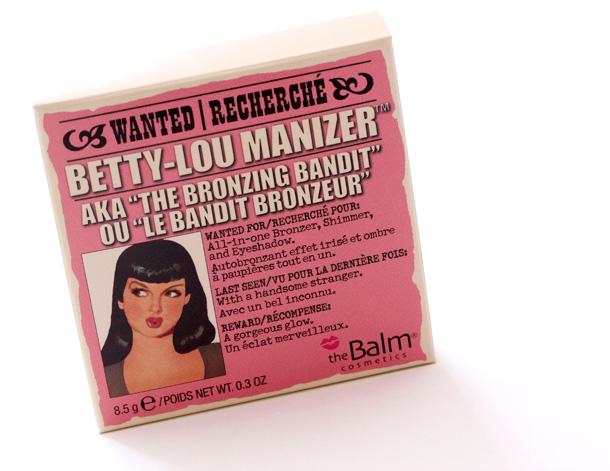 theBalm Betty-Lou Manizer box front