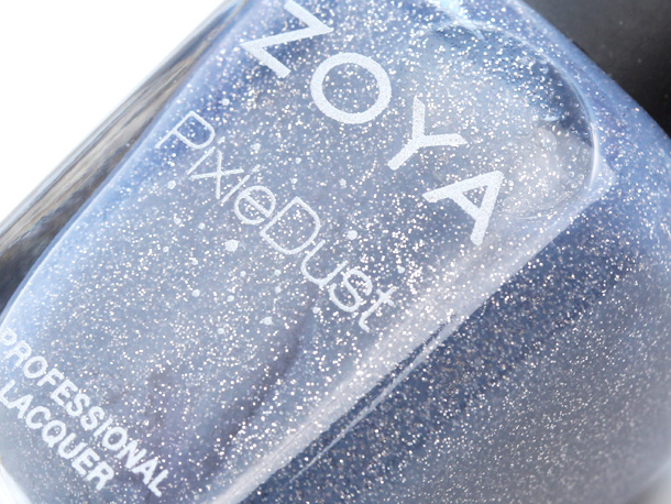 Zoya Pixie Dust Nail Polish in Nyx closeup