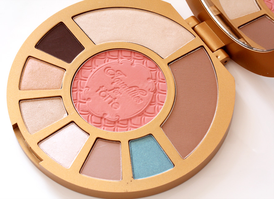 Aqualillies for Tarte Amazonian Clay Waterproof Eye and Cheek Palette big