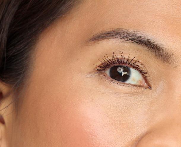 Chanel Le Volume de Chanel Prune Mascara eye closeup