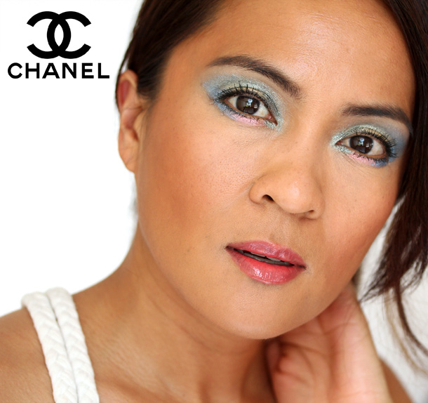 Chanel Stylo Eyeshadows in Moon River, Cool Gold, Pink Lagoon, Jade Shore, Blue Bay and Black Stream