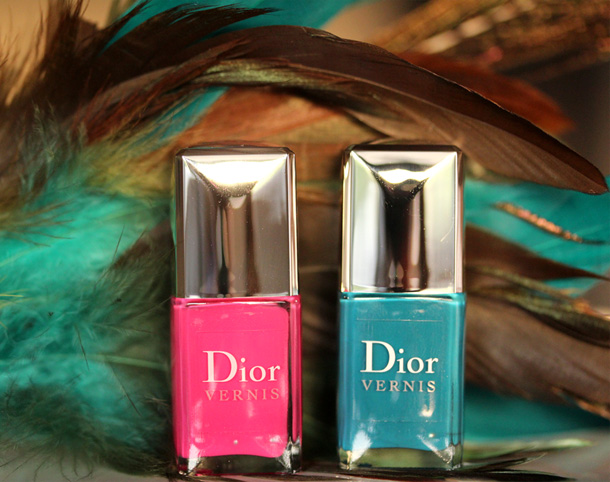 Dior Bird of Paradise Bahia Summer Nail Lacquer Duor for Tips & Toes 610