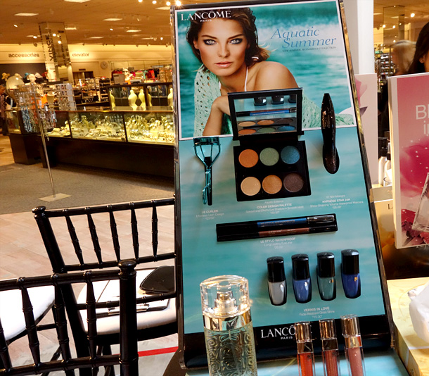 The Lancome Aquatic Summer Collection