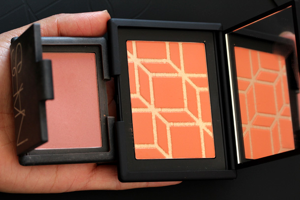 Rotonde with NARS Amour Blush for size