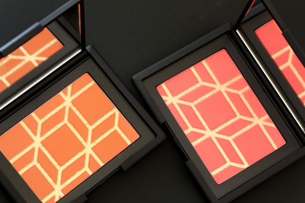 NARS Pierre Hardy blushes in Rotonde (left) and Boys Don't Cry (right)
