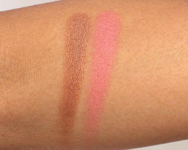 Sonia Kashuk Chic Luminosity Bronzer Blush Duo Glisten swatch