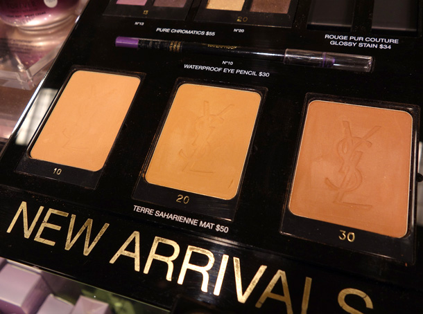 Terre Saharienne Mat Bronzers in 10, 20 and 30 ($50 each)