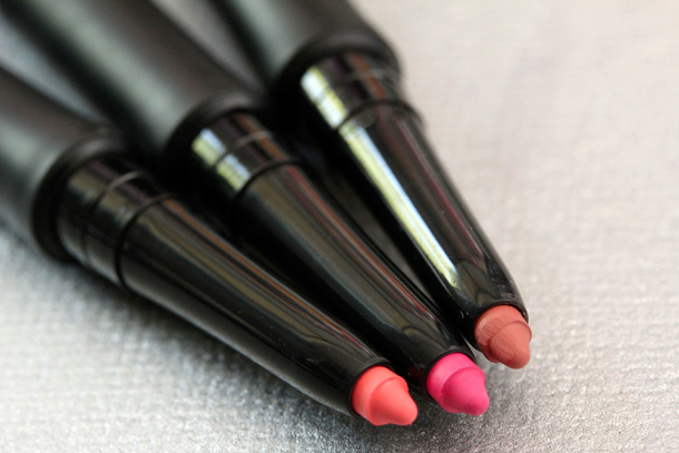bareMinerals Marvelous Moxie Lipliners in Energized, Jazzed and Exhilarated