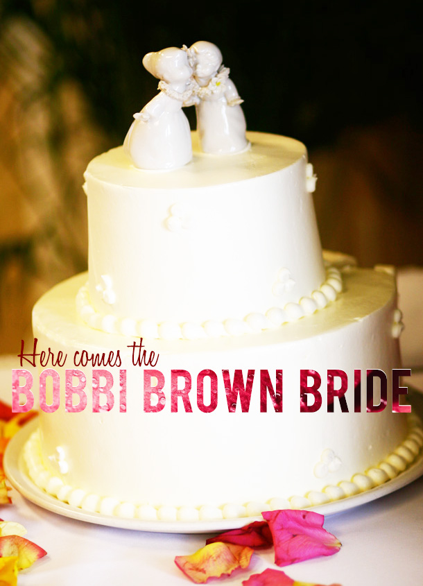 Here Comes the Bobbi Brown Bride Luxe Collection