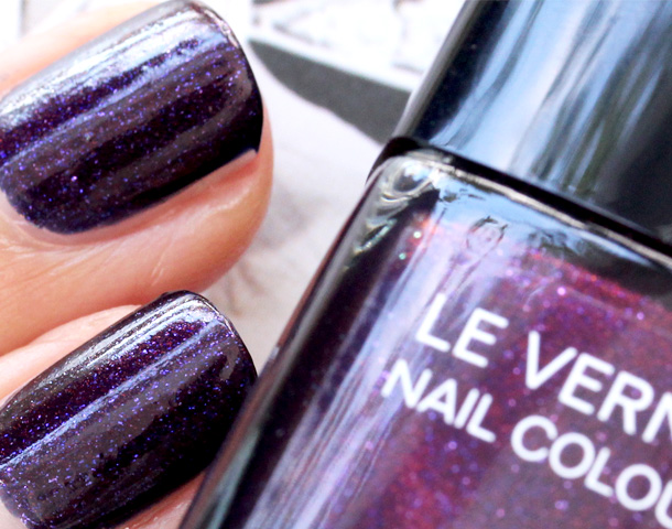 Chanel Le Vernis Nail Colour in Taboo: I'll Break All the ...