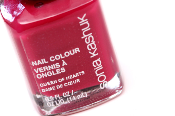 Sonia Kashuk Queen of Hearts Nail Colour 610