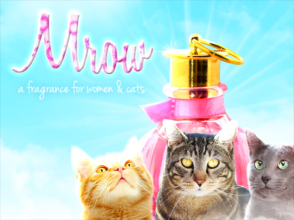 Tabs for Mrow Fragrance for Women and Cats