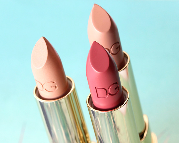 Dolce & Gabbana True Monica Collection Lipsticks