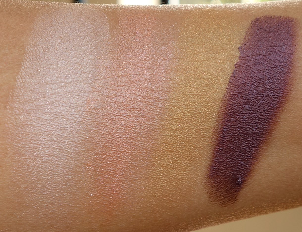 Pacifica Enlighten Eye Brightening Shadow Palette Swatches