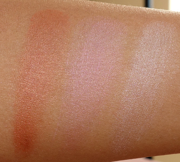Pacifica Radiant Shimmer Coconut Multiples Swatches