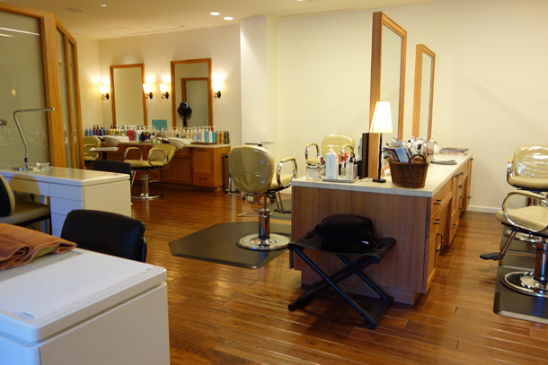 Terranea Spa Review hair stations