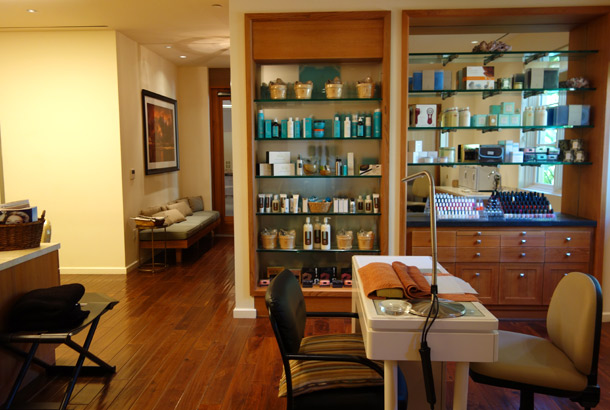 Terranea Spa Review inside salon
