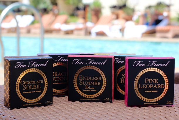 Too Faced Bronzer Boxes