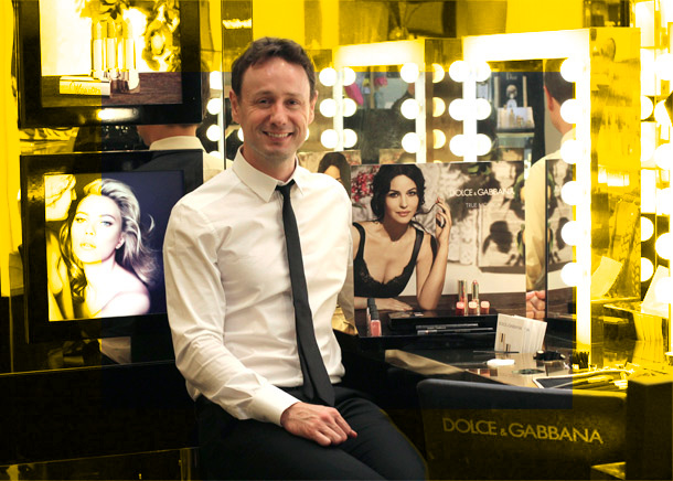 Dolce & Gabbana National Makeup Artist Christian McCulloch