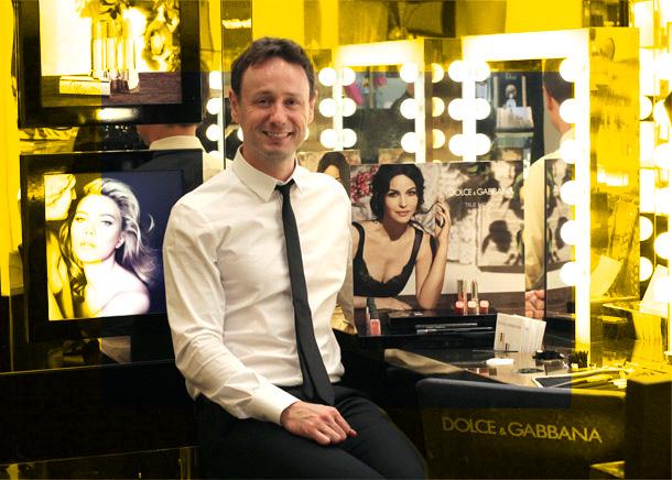 Dolce & Gabbana National Makeup Artist Christian McCulloch