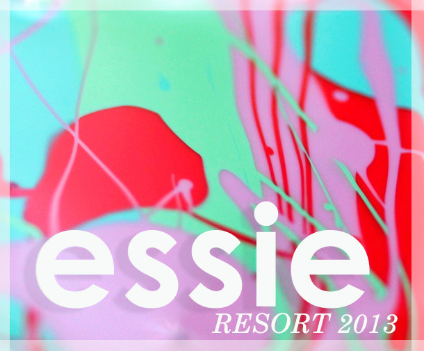 The Essie Resort 2013 Collection