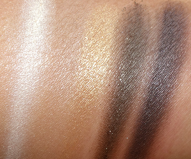 MAC Brownluxe Swatch