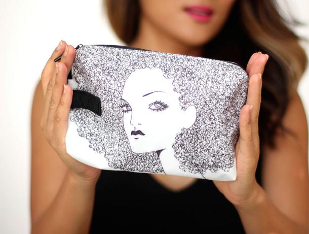 MAC Illustrated Bag by Anja Kroencke
